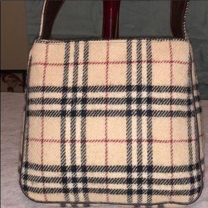 Burberry Wool Classic  Shoulder Bag